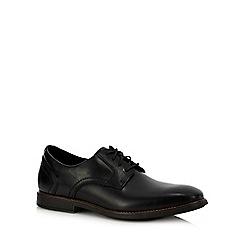 Rockport - Black leather 'Slayter' Derby shoes