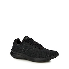 Skechers - Black 'on the go 3' trainers
