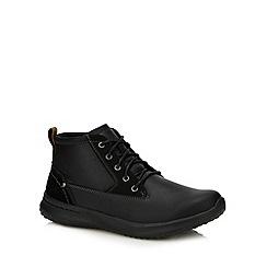 Skechers - Black 'delsen' lace up boots