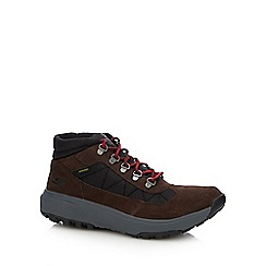Skechers - Chocolate brown 'outdoors ultra' hiking boots