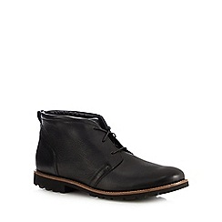 Rockport - Black leather 'Modern Break' chukka boots