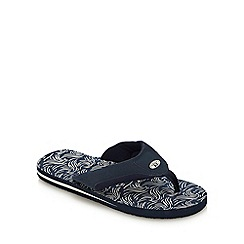 Animal - Navy 'Jekyl' Flip Flops