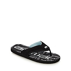Animal - Black 'Jekyl' Flip Flops