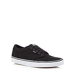 Vans - Black canvas trainers