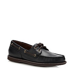 Rockport - Dark Brown Leather 'Perth' Boat Shoes
