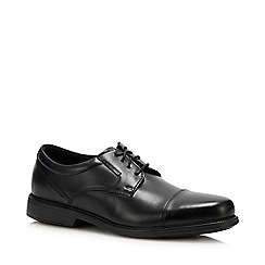 Rockport - Black Leather 'Charlesroad' Derby Shoes