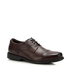Rockport - Dark Brown Leather 'Charlesroad' Derby Shoes