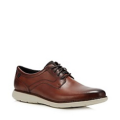 Rockport - Brown 'Garett' Derby Shoes