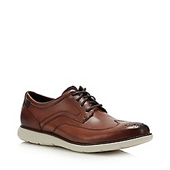 Rockport - Brown 'Garett' Brogues