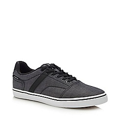 Jack & Jones - Grey Canvas 'Cali' Trainers