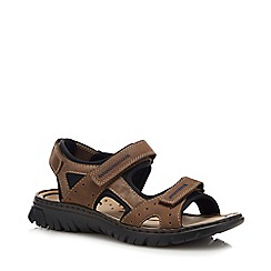 Rieker - Brown Double Strap Sandals