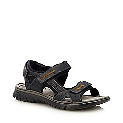 Rieker - Navy Double Strap Sandals