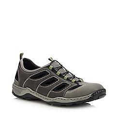 Rieker - Grey Slip-On Walking Shoes