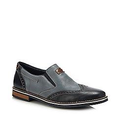 Rieker - Navy Slip-on Shoes