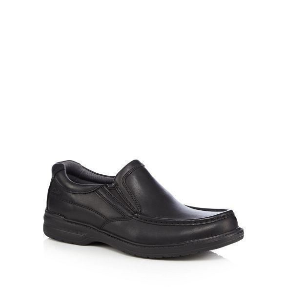 on leather slip Clarks shoes Black 'Keeler' Igpwxnqa8O