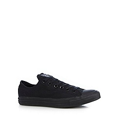 Converse - Black canvas 'All Star' trainers