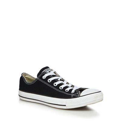 Converse - Black canvas canvas canvas 'All Star' trainers 2612b5