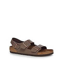 Birkenstock - Light brown 'Milano' sandals