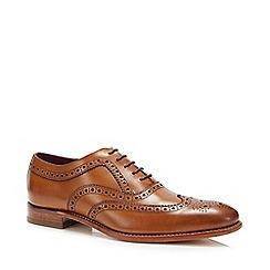 Loake - Tan leather brogues