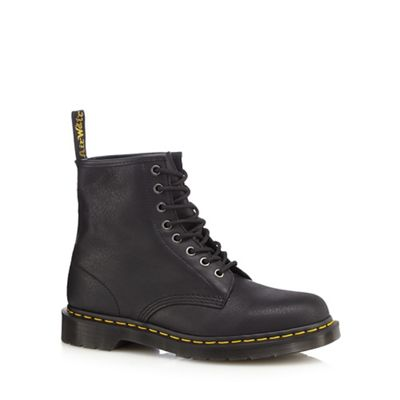 Online ExclusiveDr Martens - Black leather lace up boots