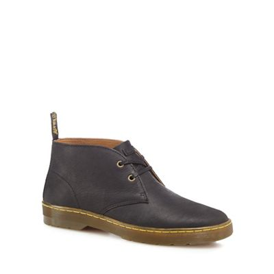 Online ExclusiveDr Martens - Black leather 'Cabrillo' Desert boots