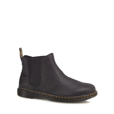 Online ExclusiveDr Martens - Black leather 'Lyme' Chelsea boots