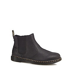Dr Martens - Black leather 'Lyme' Chelsea boots