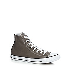 Converse - Grey 'Chuck Taylor' trainers