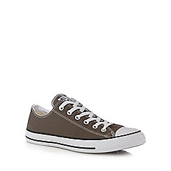 Converse - Grey 'Chuck Taylor All Star' lace up shoes