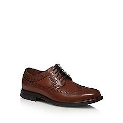 Rockport - Tan leather 'Essential Details' waterproof brogues