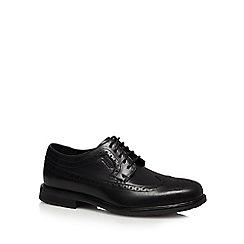 Rockport - Black leather 'Essential' brogues