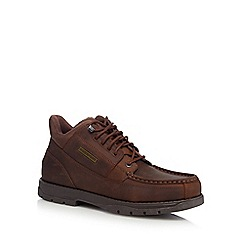 084011704470: Brown Treeline leather hiking boots