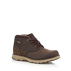Caterpillar - Dark brown 'Elude' boots