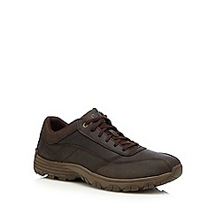 Caterpillar - Brown leather 'Eon' trainers