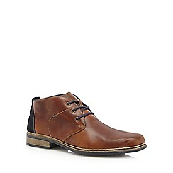 Rieker - Tan 'Antistress' leather boots
