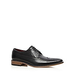 Loake - Black leather 'Callaghan' brogues