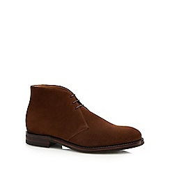 Loake - Brown suede 'Kempton' Chukka boots