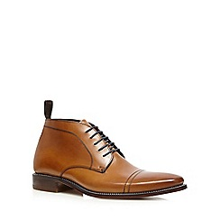 Loake - Tan leather 'Spencer' Chukka boots