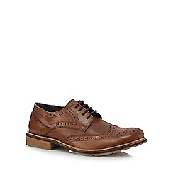 Lotus Since 1759 - Brown leather 'Hatch' brogues