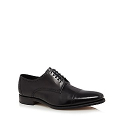 Loake - Black leather 'Reeves' Oxford shoes