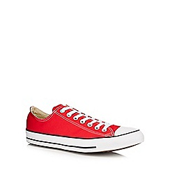 Converse - Red canvas 'Chuck Taylor All Star' trainers