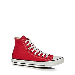 Converse - Red 'Chuck Taylor All Star' trainers