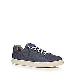G-Star - Blue denim 'Thec' trainers