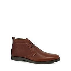 Chatham Marine - Brown leather Desert boots