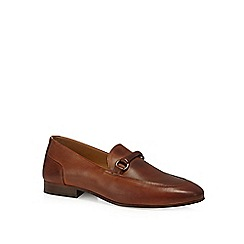 H By Hudson - Tan leather 'Renzo' loafers