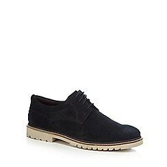 Rockport - Navy suede 'Marshall' Derby shoes