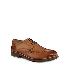 Ben Sherman - Tan leather 'Patrick' brogues