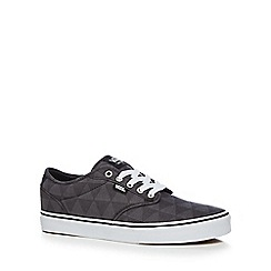 Vans - Grey leather blend 'Atwood' trainers