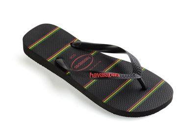 Havaianas Havaianas Havaianas - Black top stripes logo flip flops cc7840
