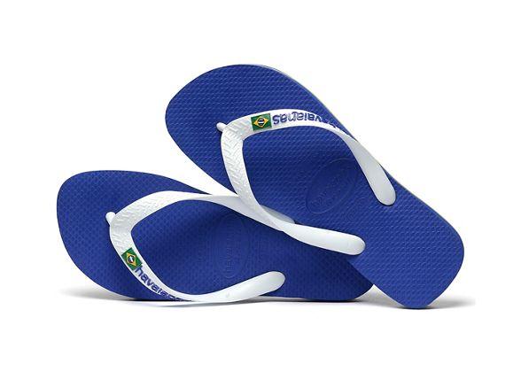 Brasil flops flip logo Blue Havaianas 6nw7fPq5n